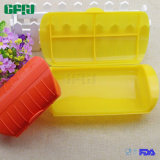 Microwaveable Silicone Food Storage Container Steamer with Cover