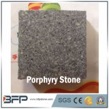 Natural Stone Dark Grey Porphyry for Floor Tile/Wall Cladding