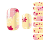 Fashionable Waterproof Cute Temporary Water Transfer Nail Sticker