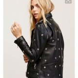 Ladies Leather Jacket, Decals, Fashion Clothing, 2017new Style