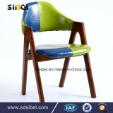 Coffee Shop Hotel Restaurant Room Furniture Wooden Leisure Arm Chair Solid Wood Sbe-Cy03314
