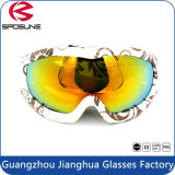 Top Sale Wide Sphercial Lens Full Shield Protective Snowmobile Racing Snowboard Goggles