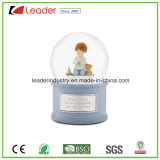 Polyresin Decorative Snow Globe Statue for Home Decoration and Promotional Gifts