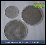 Stainless Steel Twill Dutch Weave Filter Disc
