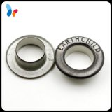Custom High-End Small Round Grommet Metal Eyelet with Engraved Logo