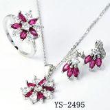 New Design Fashion Silver Set Jewelry Factory Hotsale