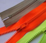 3# Two-Way Open-End Colorful Plastic Resin Zipper for Clothing Bags