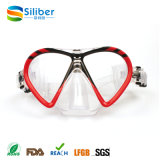 Professional Tempered Glass Diving Mask and Goggles for Children