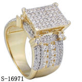 New Arrival 925 Silver Ring Hip Hop Jewelry