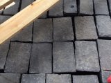Zp Black Basalt Cobble Setts Paving Andesite Cobble
