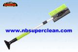Telescopic Aluminum Handle Auto Snow Brush with Ice Scraper (CN2262)