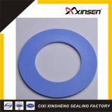 Blue Color Solid PTFE Teflon Flange Gasket for Industry Seal
