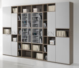 Modern Office Wooden Bookcase Furniture File Modular Cabinet (SZ-FCT622)