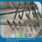 Sliding Flexible PVC Curtain Steel Mounting Hanger Sets