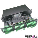 2u Rack Mounted Optical Patch Panel 48 Fibers Sliding