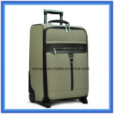 High Quality Digital Printing Pattern PU Leather Luggage Bag, OEM Factory Make Travel Trolley Case for Business Trip