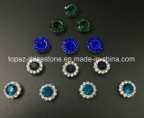 Christmas Decorative Gift 7mm Crystal Rhinestone Glass in Sewing on Strass with Claw Setting Rhinestone for Jewel Costume