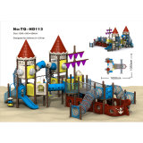 Fitness Educational Outdoor Playground, Best Price China Factory Play Theme Amusement Park