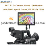 1920X1200 HDMI Input & Output 7 Inch LCD Monitor