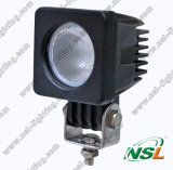 10W 10-30V 900lm 6000k CREE LED Work Light Lamp, off-Road Tractor Light, Waterproof Spotlights for Car