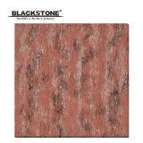 Red Color Time Stone Super Glossy Polished Porcelain Tile (JT6067)