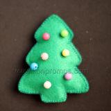 Christmas Seasong Household Felt Decoration Christms Bell