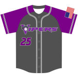 Personalized Design Sublimation Printed Baseball Tops for Team