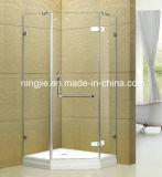 Simple Brillian Temper Glass Shower Enclosure (A-022C)