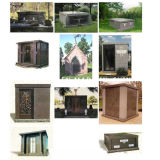 ODM Design Granite Stone Cemetery Mausoleums Columbarium for Sale