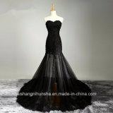 Women Lace Sleeveless Beading Sexy Evening Party Prom Dress