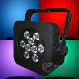 9 X 10W Quad Powered LED Wireless LED Batería plana PAR / Batería & Wireless LED PAR Flat Light / Wifree Magicube Q9