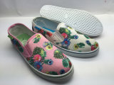 Flower Print Beautiful and Confortable Shoes for Women (6102)