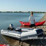 Liya 5m Inflatable Aluminum Floor Boat for Fishing Leisure Boat