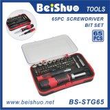 65-PC Professional Precision Combination Ratchet Screwdriver Bit Set