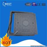 Square Composite Fiberglass FRP SMC BMC Manhole Covers with Frame