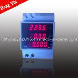 LED Mult-Function Guide-Rail DIN Digital Display Meter