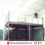 Adjustable Height Work Ganvanized Steel Platform