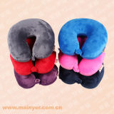 U-Shaped Plush Pillows, Micro Beads Pillows, Travel Pillows (MYK-110)