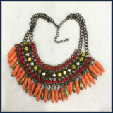 New Item Acrylic Unique Beads Glass Stones Jewellery Set Earring Bracelet Necklace Fashion Jewelry