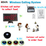 Wireless Equipment Kitchen Table Call System for Cafe, Restaurant