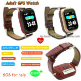 Touch Screen Adult GPS Tracker Watch with Heart Rate