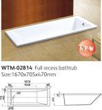 Fiberglass Enforced Acrylic Embed Bathtubs