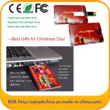 Wholesale Customize Full Color Card USB Flash Drive for Free Sample