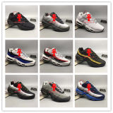 2017 Men Running Shoes Max95 Men Retro Cushion Navy Maxes 95 Og Sports High-Quality Chaussure 95s Walking Boots Sneakers Size 40-47