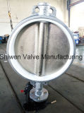Non-Corrosive PTFE Seat Butterfly Valve with Gear