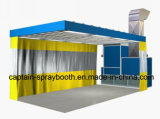 Sanding Room Combined with Spray Booth