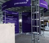 Custom Printed Trade Show, Portable Trade Show Booth, Aluminum Trade Show Display Booth