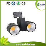 2*10W COB LED Track Light with CE and RoHS
