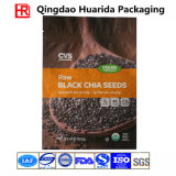 Bottom Gusset Reclosable Chia Seeds Packaging Bag with Zipper