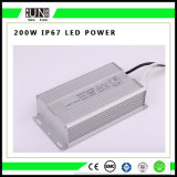 200W Constant Voltage IP65 IP67 12V/24V Waterproof LED Power Supply